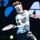 Aus Open PIX: Federer wobbles towards third round; Kerber struggles