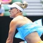 Kerber says top ranking weighs, but ready for grass season