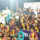 West Bengal win Santosh Trophy for 32nd time