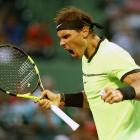 PHOTOS: Nadal wins in 1000th match, Raonic withdraws