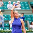 Kvitova makes emotional winning comeback at French Open