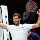 Dimitrov snaps Sock jinx, to set up Goffin final