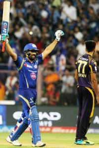 IPL PHOTOS: Rohit helps Mumbai do the 'double' over Kolkata