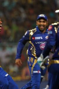 IPL PHOTOS: Second-string Mumbai outclass KKR to finish top