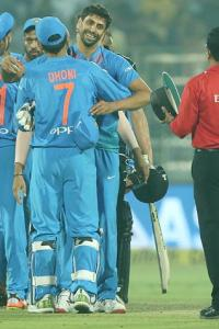 PHOTOS: India crush NZ as Nehra finishes on a high