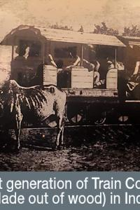 Pix: Have you seen India's first rail coach?