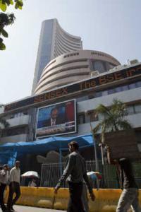 Sensex rises 323 pts, reclaims 34,000-mark