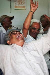 Sensex scales 35K peak for first time
