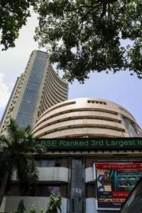 Sensex falls 155 points on profit-booking, global cues