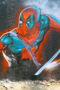 PIX: <i>Deadpool</i> fever grips Mumbai