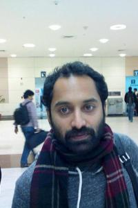 Spotted: Malayalam actor Fahadh Fazil at Chennai airport