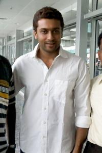 Spotted: Tamil actor Suriya in Bangalore