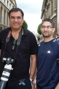 Hey! What is Boman Irani doing in London?