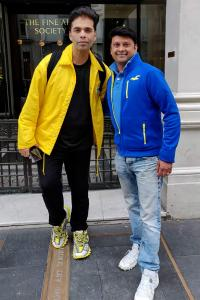 What was Karan Johar doing in London?