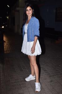 Video: Katrina watches <I>Bhoot</I> with Vicky Kaushal