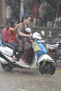 Heavy rains leave Mumbai in a gridlock