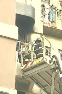 2 dead, 11 rescued after fire breaks out in Mumbai's Cuffe Parade