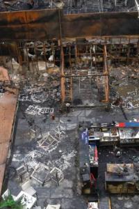 PHOTOS: Devastating blaze at Mumbai's Kamala Mills