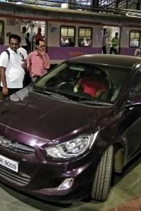 Mumbai: 'Confused' cricketer drives car onto station platform