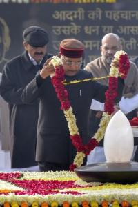 PHOTOS: Vajpayee's memorial inaugurated; Prez, PM offer floral tributes
