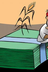 In spite of abundant agri products why are farmers unhappy?