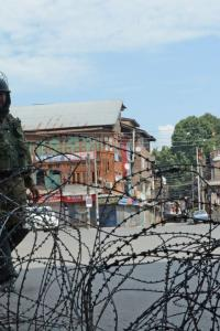'Please don't think Kashmiris have accepted it'