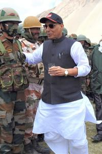 India believes in winning hearts, not land: Rajnath