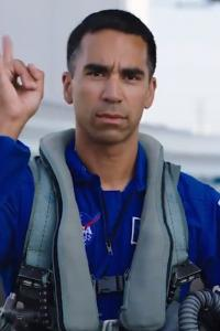 Indian-American astronaut in NASA's manned Moon mission