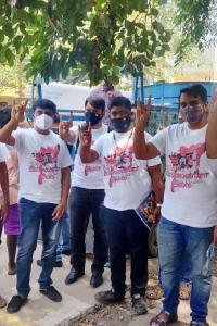 Rajinikanth turns 70, supporters throng residence