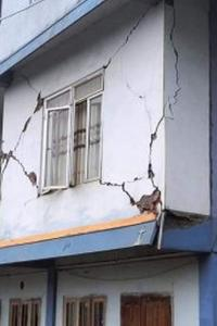 Houses damaged, cracks on roads as quake hits Mizoram