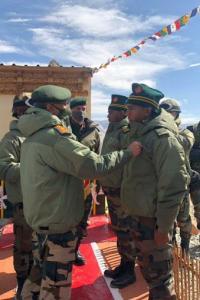 Army chief honours Galwan heroes in Ladakh