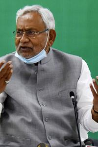 Didn't talk about retirement: Nitish on 'last election' remark