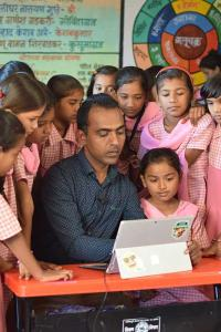 'I'm really proud I am the first Indian teacher to win this award'