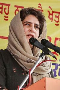Priyanka Gandhi to attend <i>kisan mahapanchayat</i> in UP