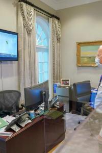 Biden, Harris congratulate NASA for historic landing on Mars