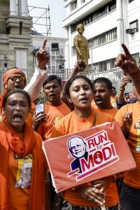 Modi on project blitz in poll-bound Assam, Bengal