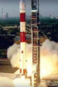 Isro's PSLV-C51 lifts off successfully with 19 satellites
