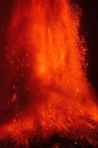 Mount Etna erupts in spectacular manner