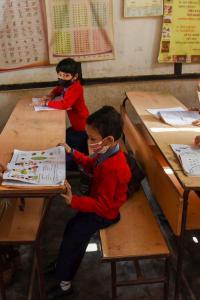 Schools reopen in Kerala, Karnataka, Assam with Covid regulations