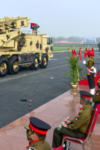 Indian Army shows off its military might