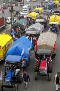 Delhi police to decide on farmers' tractor march: SC