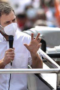 Rahul hits campaign trail in TN, targets PM Modi