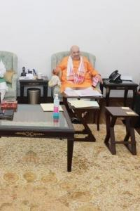 Meet underway at Shah's home to finalise Assam seat-sharing deal