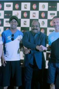 Ronaldinho, Giggs in star-studded Premier Futsal