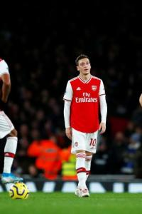EPL PIX: Arsenal slump to first home defeat