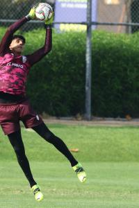 India keeper Sandhu wants to emulate Liverpool's Alisson