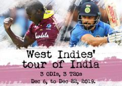 West Indies tour of India 2019