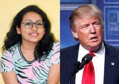 The Indian teen who took on Donald Trump