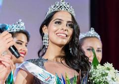 She's the first Indian to win Miss Deaf Asia crown
