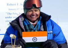 How an IPS officer conquered Antarctica